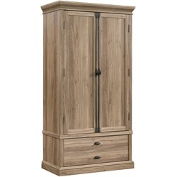 Sauder Barrister Lane Bedroom Armoire in Salt Oak