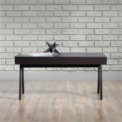 Sauder Square1 Coffee Table in Carbon Ash