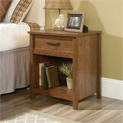 Sauder Cannery Bridge Nightstand in Milled Cherry