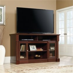 Sauder Palladia TV Stand in Select Cherry