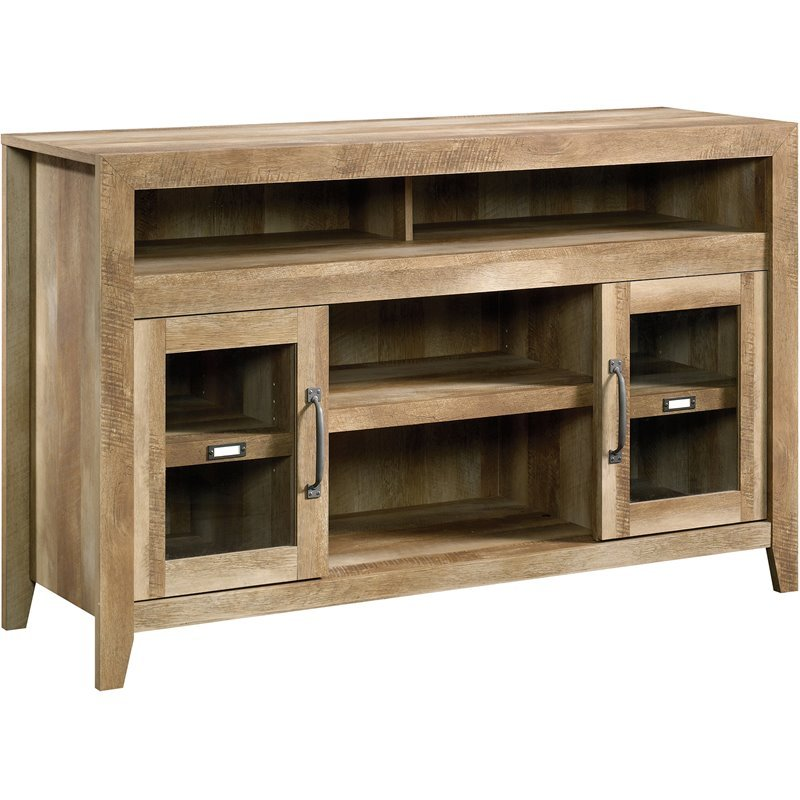 Tv stand in craftsman oak 419119 - Dresser as tv stand in living room ...
