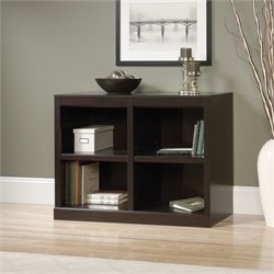 Sauder 2 Shelf Bookcase in Jamocha Wood