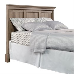 Sauder Barrister Lane Queen Headboard in Salt Oak