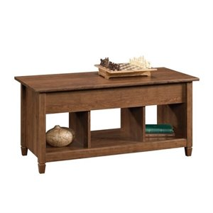Lift Top Coffee Table In Auburn Cherry