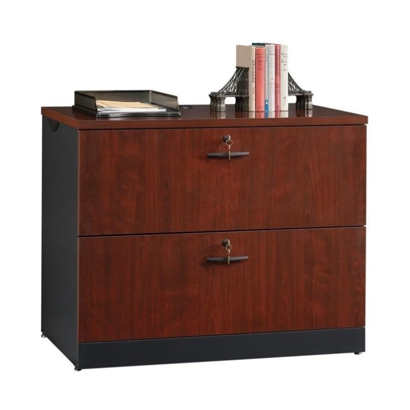 2 Drawer File Cabinet in Classic Cherry - 419606