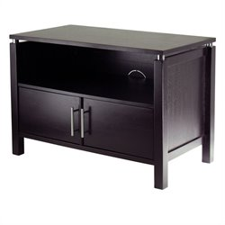 Linea Solid Wood TV Stand in Espresso