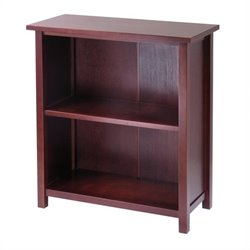 Milan 3-Tier Medium Storage Shelf in Antique Walnut
