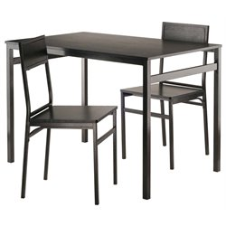 Winsome Milton 3 Piece Dining Set
