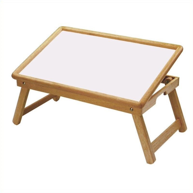 Flip Top Bed Tray in Natural