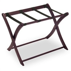 Luggage Rack in Espresso Beechwood