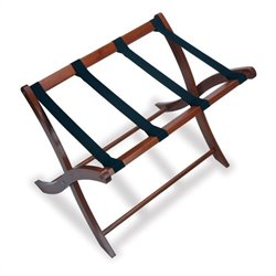 Luggage Rack in Antique Walnut