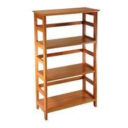 Winsome Studio 3-Tier Bookshelf in Honey