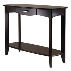 Danica Console Table in Espresso