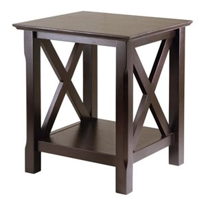 End Table in Cappuccino Finish