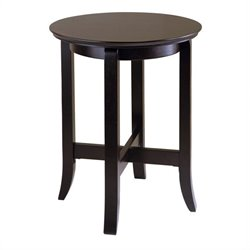 Winsome Toby End Table in Dark Espresso Finish