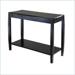 Winsome Cleo Console Table in Dark Espresso Finish