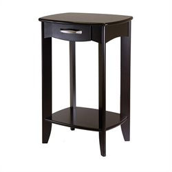 Winsome Danica Side Table in Dark Espresso Finish