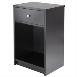 Winsome Squamish Accent Table in Black