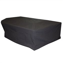 Outdoor GreatRoom Company Rectangular Black Vinyl Cover