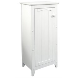 Catskill Craftsmen Wood Storage Cabinet in White