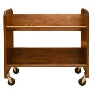 Catskill Craftsmen Rol Rack Book Rack in Walnut Stained Birch