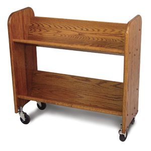 Catskill Craftsmen Rol Rack Book Rack in Walnut Stained Oak