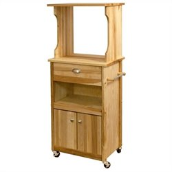 Hutch Top Cart with Open Storage
