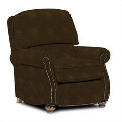 Broyhill Laramie Brown Recliner Chair with Attic Heirlooms Wood Stain
