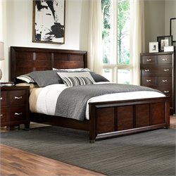Broyhill Eastlake 2 Panel Bed in Warm Brown Cherry - California King