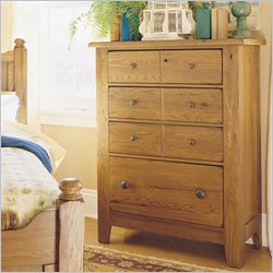 Broyhill Attic Heirlooms 4 Drawer Chest - Natural Oak Stain