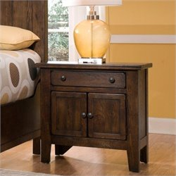 Broyhill Attic Heirlooms Vintage 1 Drawer Nightstand
