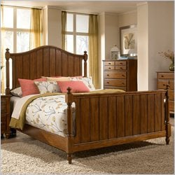 Broyhill Hayden Place Panel Bed in Light Cherry - California King