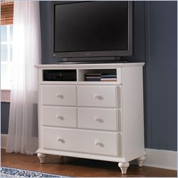 Broyhill Hayden Place Media Chest in White