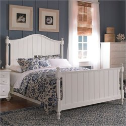 Broyhill Hayden Place Panel Bed in White - California King