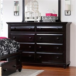 Broyhill Farnsworth Drawer Dresser in Inky-black Stain