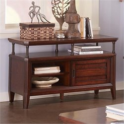 Broyhill Estes Park Console Table in Artisan Oak