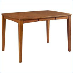 Broyhill Mardella Counter Height Table in Warm Cognac