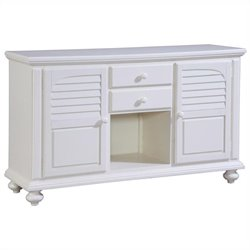 Broyhill Seabrooke Server in Creamy White