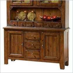 Broyhill Attic Heirlooms China Base in Rustic Oak