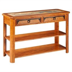Broyhill Quail Valley Sofa Table in Oak