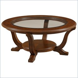 Broyhill Lana Round Cocktail Table in Cherry
