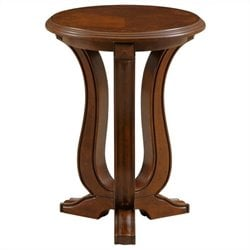 Broyhill Lana Chairside Table in Cherry