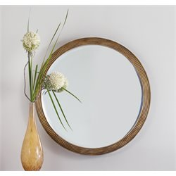 Hooker Melange Presidio Mirror in Gold