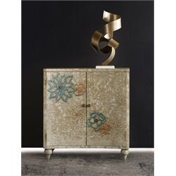 Hooker Melange Blossom 2 Shelf Accent Chest