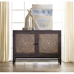 Hooker Furniture Melange Matisette Accent Chest in Gray