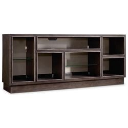 Hooker Melange Newell 3 Shelf Sideboard in Dark Wood
