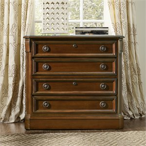 Hooker Furniture Brookhaven 2 Drawer Lateral File in Cherry