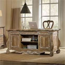 Hooker Chatelet Executive Desk in Caramel Froth