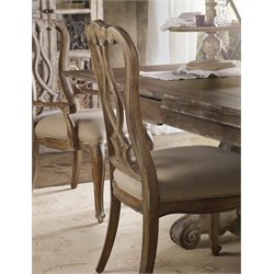 Hooker Chatelet Dining Side Chair in Caramel Froth