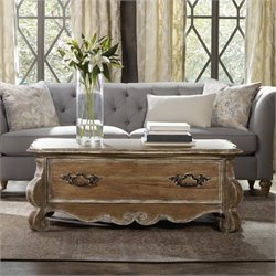 Hooker Furniture Chatelet Coffee Table in Caramel Froth